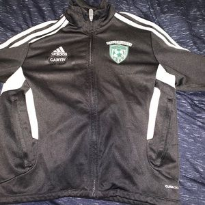 CUSTOM Adidas zip jacket